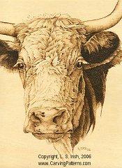cow pattern animal fur textures pyrography basics