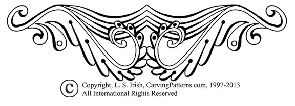L S Irish Free Welcome Pattern