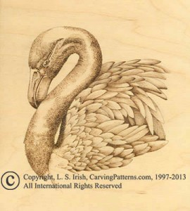 Pyrography Mapping Step