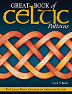 Great Book of Celtic Knot Patterns by Lora S Irish