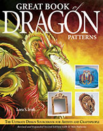 Great Book of Dragon Patterns by Lora S Irish