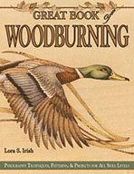 Great Book of Woodburning by Lora S Irish
