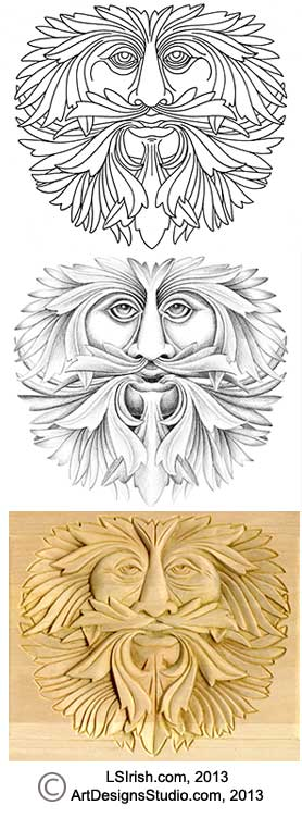Basic Techniques to Relief Wood Carving, Free Wood Carving Projects ...