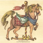 Colored Pencil Horse