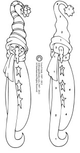 free wood carving snowman pattern
