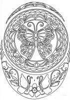 Irish birch bark hummingbird pattern