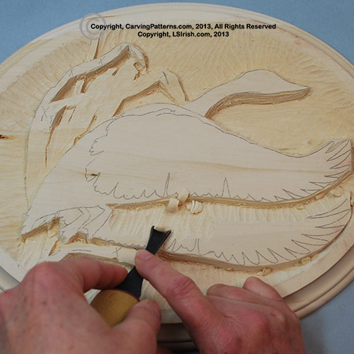 In-Depth Free Online Relief Wood Carving Canada Goose ...