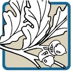 oak, maple and leaf mantel patterns by Lora S Irish