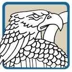American Bald Eagle Mantel Patterns by Lora S Irish