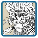oriental dragon mantel patterns by Lora S Irish
