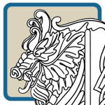 Fantasy, dragon, medievil king and celtic knot patterns by Lora S Irish