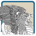 gargoyle, griffin, dragon patterns by Lora S Irish