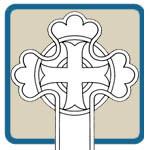 Assorted religious cross patterns by Lora S Irish