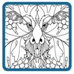 greenman, wood spirit patterns by Irish