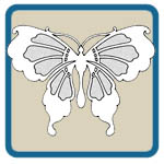 Fretwork Scroll Saw Butterfly Patterns by Lora S Irish