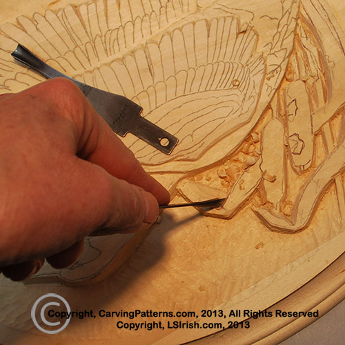 In depth free online relief wood carving canada goose