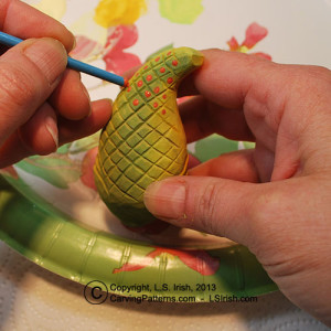 How to blend craft paints by Lora Irish