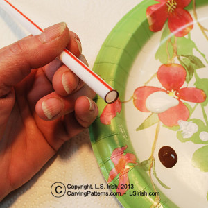 Simple blending of acrylic craft paints for your wood for Acrylic paint for wood crafts