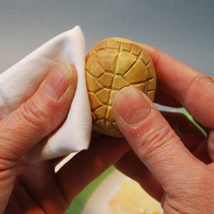 How to dry brush your wood carvings.