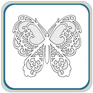 Scroll Saw Fretwork Butterfly Patterns by Lora S. Irish