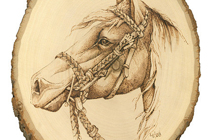 WOOD BURNING HORSE PATTERNS woodworking plans and information at