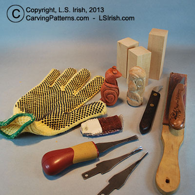 wood carving tools beginner