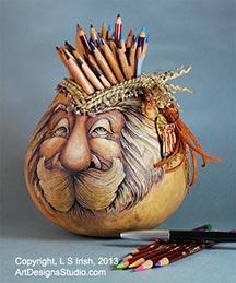 Gourd art for Gourd carving patterns