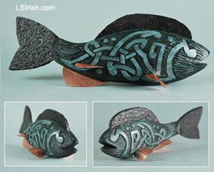 Celtic Knot Fish Decoy