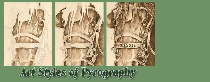 Art Styles of Pyrography E-Book