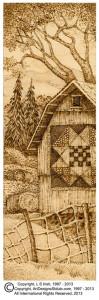 barn texture board
