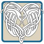 Lora Irish celtic knot pattern