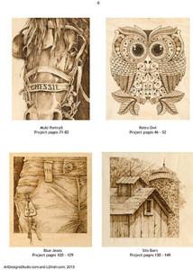 Styles of Pyrography by Irish
