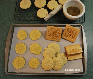 Chip Carving Cookies