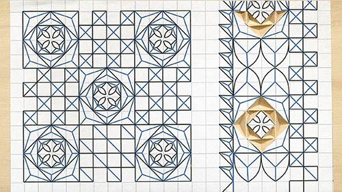 Chip carving sampler pattern by tatiana