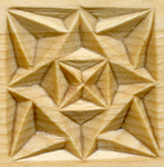 Triangle Chips in Chip Carving