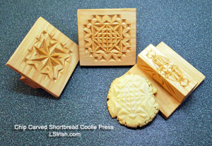 chip carved cookie press
