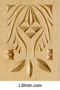 chip carving sample