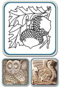 beginners carving patterns by Lora Irish