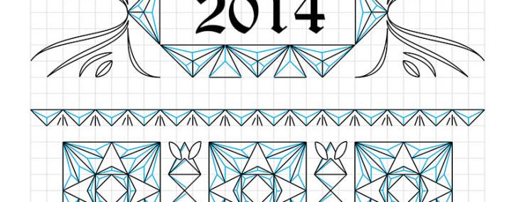 Chip Carving – Sampler Layout Pattern