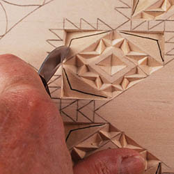 cutting double straight-wall chips