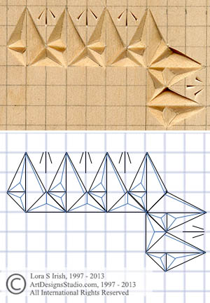 How to Transfer a Chip Carving Pattern Using Graphing, Tracing, and ...