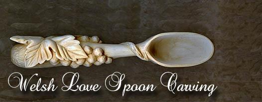 Welsh Love Spoons