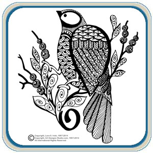 Pyrography Doodles Pattern Pack by Lora Irish