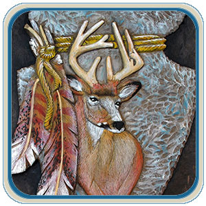 Mule Deer and White Tail Deer Patterns by Lora Irish