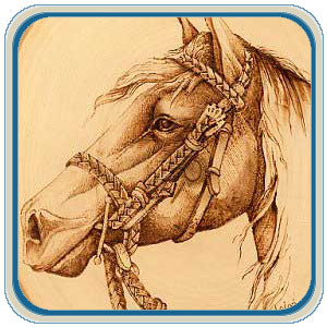Western Horses Patterns by Lora Irish