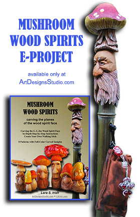 wood carving wood spirit walking sticks