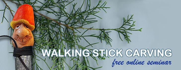 Wood Carving Walking Sticks