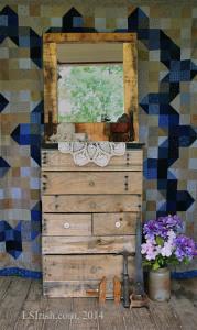 DIY Pallet Wood Dresser