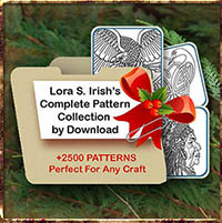 Complete Pattern Collection by Lora Irish by Download