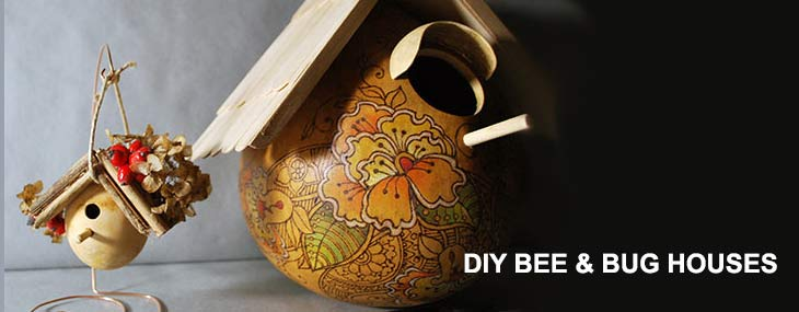 DIY Bee and Bug Houses